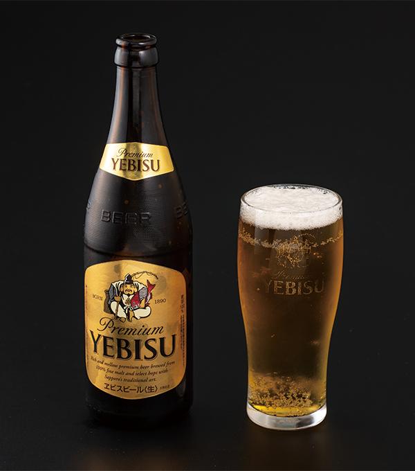 ヱビスビール(中瓶)の画像