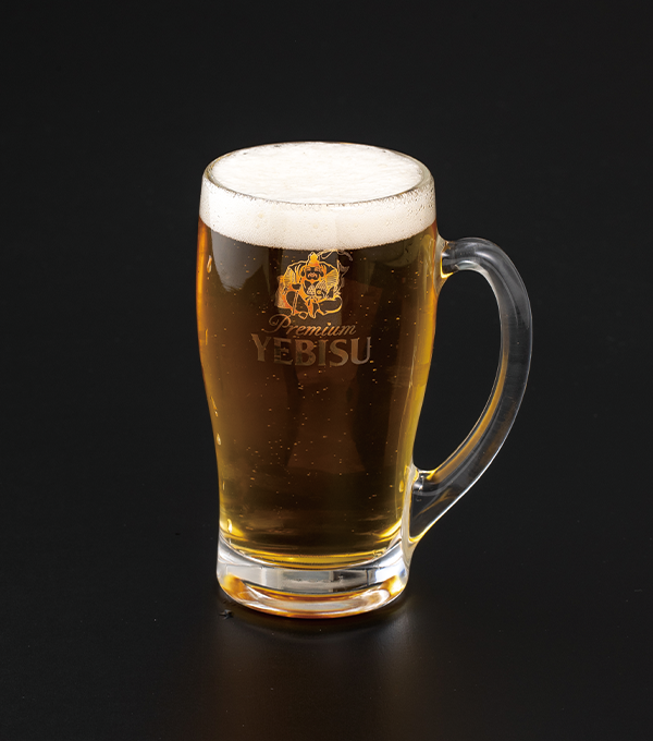 ヱビス生ビール(中)の画像